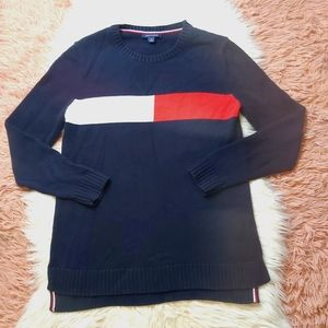 Tommy Hilfiger Oversized Crew Neck Sweater